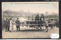 1510 AV64 AK PC CPA L AEROPLANE DE PISCHOFF NC TTB - ....-1914: Precursori