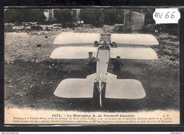 1512 AV66 AK PC CPA LE MONOPLAN DE PISCHOFF NC TTB - ....-1914: Precursori