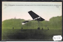 1514 AV68 AK PC CPA L AEROPLANE GASTAMBIDE NC TTB - ....-1914: Precursori