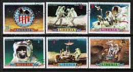 LIBERIA   Scott # 599-604 VF USED (Stamp Scan # 431) - Liberia