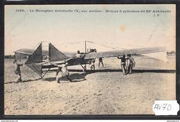 1516 AV70 AK PC CPA MONOPLAN ANTOINETTE IV NC TTB - ....-1914: Precursori