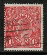 AUSTRALIA   Scott # 26 F-VF USED (Stamp Scan # 431) - 1913-36 George V: Heads