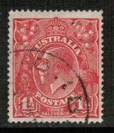 AUSTRALIA   Scott # 26 VF USED (Stamp Scan # 431) - 1913-36 George V : Hoofden
