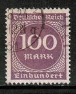 GERMANY   Scott # 229 VF USED (Stamp Scan # 431) - Germany