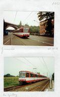 STRASSENBAHNEN - TRAMS - TRAMCARS - DÜSSELDORF - 5 Photographies. (1) - Photos