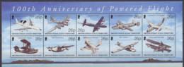 TERRITOIRES BRITANNIQUES DE L'OCEAN INDIEN - Centenaire De L'aviation B - Territorio Britannico Dell'Oceano Indiano