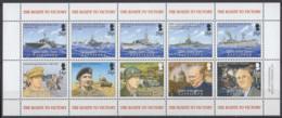 TERRITOIRES BRITANNIQUES DE L'OCEAN INDIEN - 60e Anniversaire De La Fin De La 2e Guerre Mondiale - Territoire Britannique De L'Océan Indien