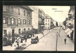 CPA Zabern, Restaurant Friedel In Der Rue De La Gare - Ohne Zuordnung