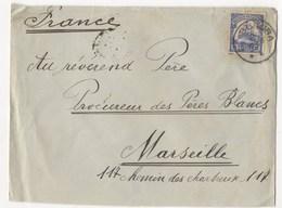 LETTRE DE 1902 D'AFRIQUE POUR MARSEILLE - Allemagne