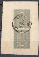 ITALIA - 1863 - Due Valori Yvert 12 Uniti Fra Loro, Obliterati, Su Frammento Di Busta. - 1861-78 Victor Emmanuel II