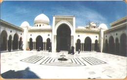 Syria - SYR-31, Easycomm Chip Card, White Mosque, 500 £, Used - Syria
