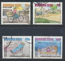 °°° BURKINA FASO - Y&T N°1370/73 - 2010 °°° - Burkina Faso (1984-...)