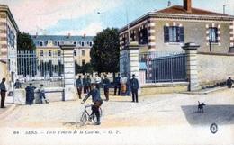 SENS (Yonne) - Porte D'entrée De La Caserne - Sens