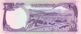 AFGHANISTAN P. 48b 20 A 1975 UNC - Afghanistan