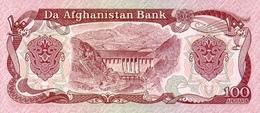 AFGHANISTAN P. 58c 100 A 1991 UNC (2 Billets) - Afghanistan