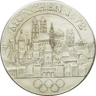 Allemagne, Jeton, XXème Jeux Olympiques D'Eté De Munich, 1972, SUP+, Argent - Allemagne