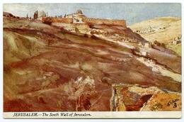ARTIST : FULLEYLOVE - JERUSALEM - THE SOUTH WALL (TUCK'S OILETTE) - Other Illustrators