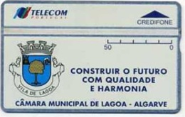 TLP P : TP51 50u CAMARA MUNICIPAL DE LAGOA MINT - Portogallo