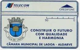 TLP P : TP51 50u CAMARA MUNICIPAL DE LAGOA MINT - Portugal