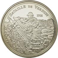 France, Médaille, Centenaire Première Guerre Mondiale, Bataille De Verdun - France
