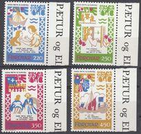 FØROYAR - 1982 - Serie Completa Nuova MNH: Yvert 69/72 Per Complessivi 4 Valori. - Emissioni Locali