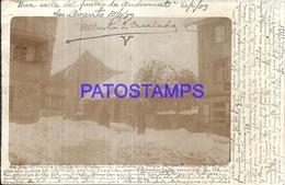 103010 SWITZERLAND ANDERMATT VIEW STREET YEAR 1903 POSTAL POSTCARD - Suisse