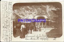 103011 SWITZERLAND LES AVANTS KURSAAL DE INTERLAKEN YEAR 1903 POSTAL POSTCARD - Unclassified