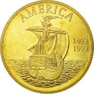 United States Of America, Médaille, 500ème Anniversaire De La Découverte De - Autres