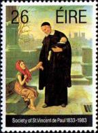 Irlande Poste N** Yv: 521 Mi:518 Society Of St.Vincent De Paul - Unused Stamps