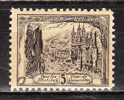 E5**  Timbre émis Au Profit Des Prisonniers De Nunspeet - Soldat Sur L'Yser - MNH** - LOOK!!!! - Commemorative Labels
