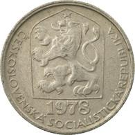 Monnaie, Tchécoslovaquie, 50 Haleru, 1978, TTB, Copper-nickel, KM:89 - Tchécoslovaquie
