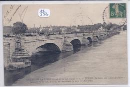 TOURS- CRUES DE LA LOIRE EN 1907- AU PONT DE PIERRE - Tours