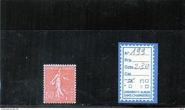 FRANCE LUXE ** - N° 199 - 1903-60 Semeuse Lignée