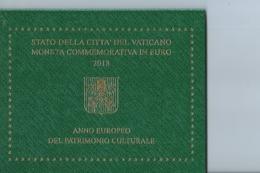 Coffret  2euro; Vatican Bu   2018   Del Patrimonio Culturale  - - Vatican