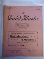 LE GRAND ILLUSTRE N° 40 Du 1/10/1905 SELF DEFENSE AU FEMININ - SERVICE DES EXPLOSIFS A LA PREFECTURE DE POLICE - Newspapers