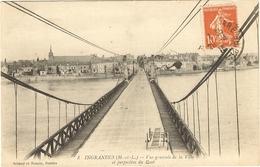 INGRANDES - Vue Générale De La Ville Et Perspective Du Pont 6 - Tierce