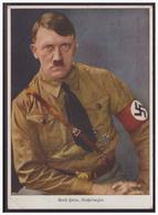 Dt- Reich (004957) Propagandakarte Farbig Adolf Hitler , Reichskanzler, Blanco Gestempelt Wien - Deutschland