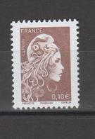 FRANCE / 2018 / Y&T N° 5250 ** : Marianne L'engagée (de Feuille Gommée) 0.10 € - Gomme D'origine Intacte - Neufs