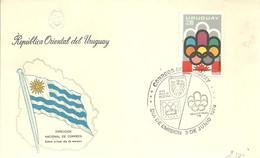 POSTMARKET  URUGUAY - Verano 1976: Montréal