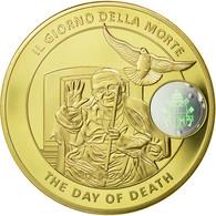 Vatican, Médaille, Mort Du Pape Jean-Paul II, 2005, FDC, Copper-Nickel Gilt - Other