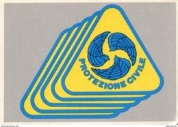 ROMA  CARD STEMMA PROTEZIONE CIVILE  ALI  D'ANGELO N1990  GX5500 - Cartoline