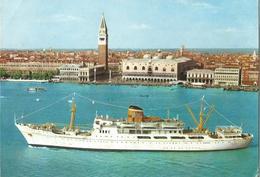 MOTONAVI S. MARCO S. GIORGIO LINEA CELERE ITALIA GRECIA TURCHIA   (601) - Barche