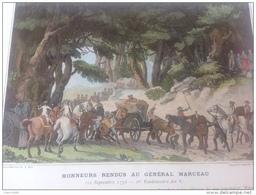 HONNEURS RENDU AU GÉNÉRAL MARCEAU  - ALTENKIRCHEN - CAMPAGNE DE 1796 - ARMÉE DE SAMBRE ET MEUSE - Autres