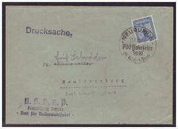 Dt- Reich (005010) Brief NSDAP Kreisleitung Ruppin, Gelaufen Von Neuruppin Mit SST Nach Neulöwenberg - Deutschland