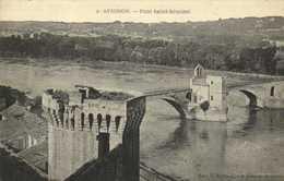 AVIGNON   Pont Saint  Benezet  RV - Avignon (Palais & Pont)