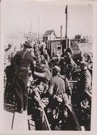 DANEMARK DENMARK DANISCHEN HAFEN  NORWEGEN NORWAY FOTO DE PRESSE WW2 WWII WORLD WAR 2 WELTKRIEG - Guerra, Militares