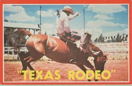 CPSM:  TEXAS  Rodéo  (états-unis):   Texas'  Number One Sport.    (E1349.) - Non Classés