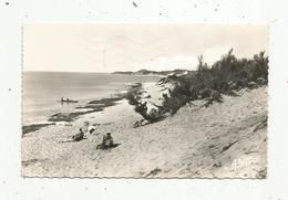 Cp , 17 , ILE D'OLERON , La Plage De LILEAU , Voyagée 1964, Oblitération LA ROCHELLE - ENTREPOTS, Ed. Arjac , N° 387 - Ile D'Oléron