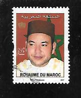 TIMBRE OBLITERE DU MAROC DE 2017 - Marocco (1956-...)