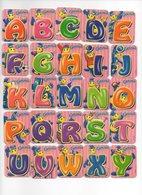 MAGNETS   ALPHABET GERVAIS AUX FRUITS - Letras & Cifras